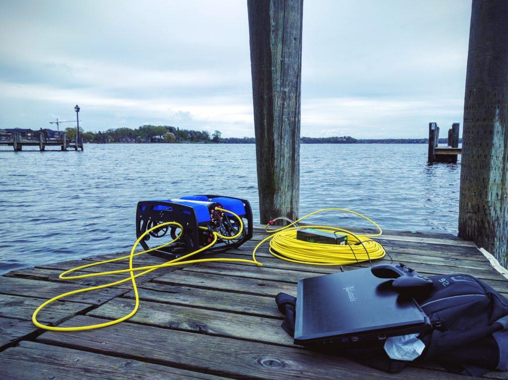 BlueROV2 Lake