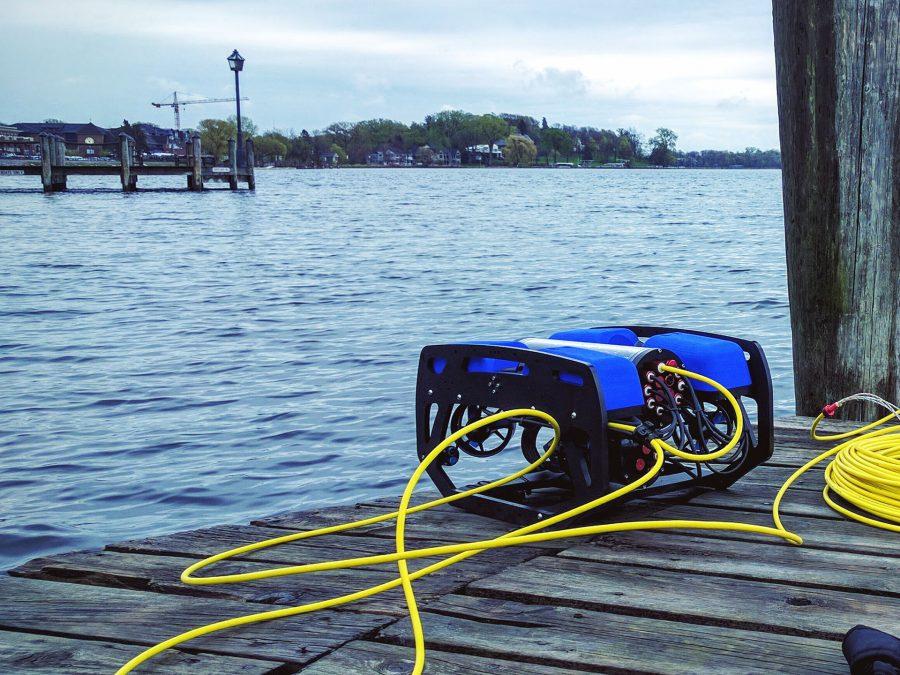BlueROV2 at Lake Minnetonka