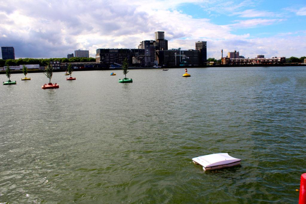 Waste Shark at the Port of Rotterdam. Photo: RanMarine