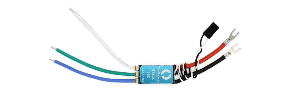 The Basic ESC speed controller.