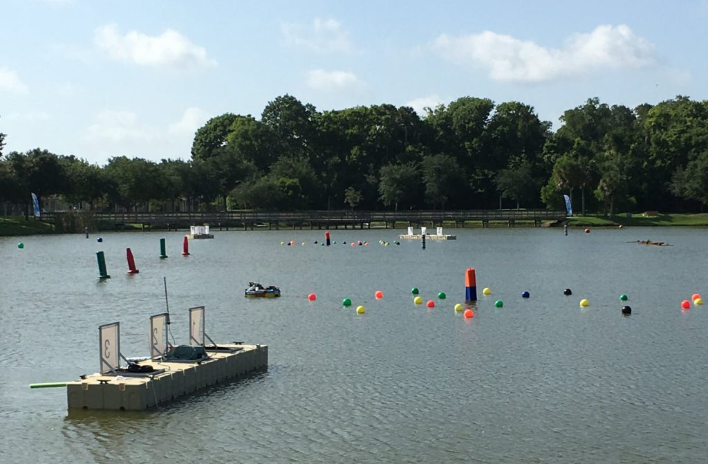RoboBoat obstacle course at Reed Canal Park